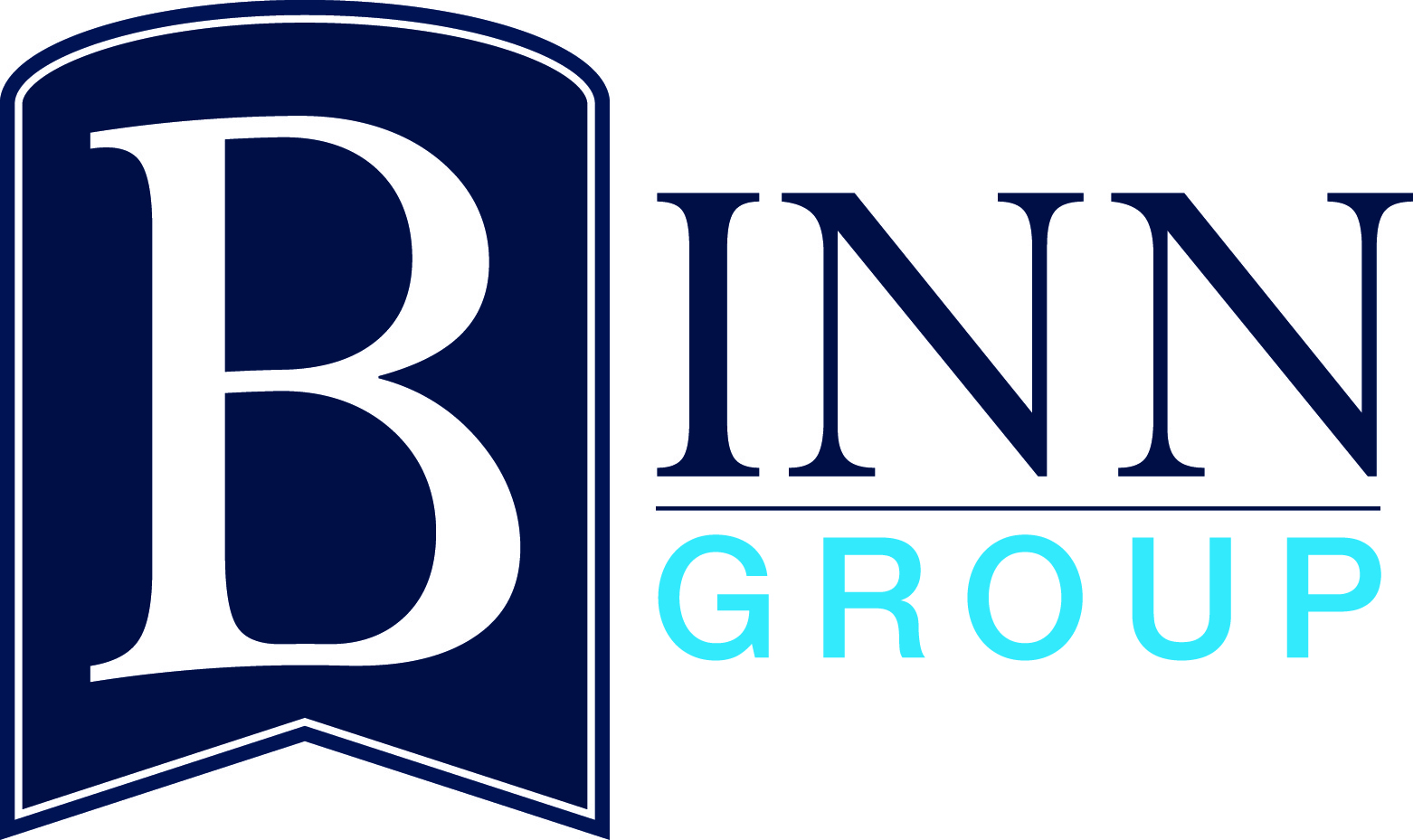 Photo of the logo of Binn Group, one of the main sponsors of Perth Highland Games 2018