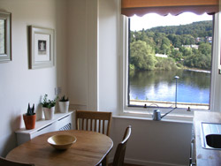 Photo of dining room of Riverside Apartment self-catering